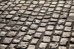 Cobblestone street Stock Photos