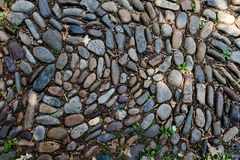 Cobblestone Street in Philadelphia, PA, USA. This is a texture of an original cobblestone street in Philadelphia, PA, USA Stock Image