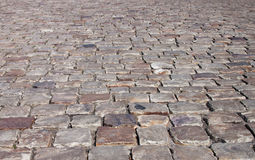 Cobblestone street - RAW format Royalty Free Stock Photos