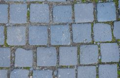 Cobblestone street surface Stock Photography