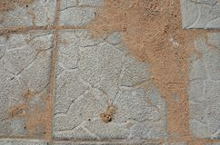 A cobblestone texture. This picture shows a cobblestone texture with relief royalty free stock images