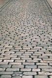 cobblestone vecchio Fotografia Stock