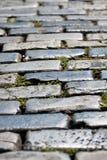 Cobblestone velho de San Juan imagem de stock royalty free