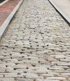 Cobblestone Walk Royalty Free Stock Photography
