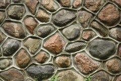 Cobblestone wall. Outside of Casa Loma in Toronto Ontario Canada Royalty Free Stock Photos