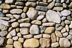 Cobblestone Wall Royalty Free Stock Photos