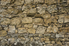 Cobblestone wall Royalty Free Stock Image
