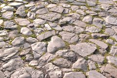 Cobblestone Way Royalty Free Stock Photo