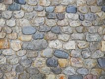 Cobblestone wet Royalty Free Stock Photo