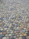 Cobblestone wet Stock Photo