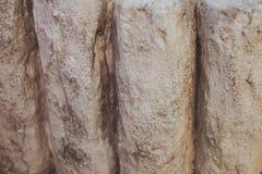 cobblestoned granittrottoar för bakgrund Arkivbilder