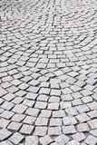 Cobblestoned pavement Royalty Free Stock Images