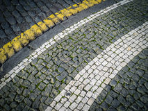 Cobblestoned street Stock Photo