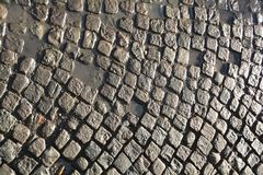 Cobblestones Stock Photo