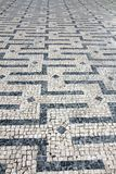 Cobblestones in Braga, Portugal Royalty Free Stock Photo