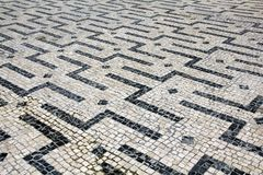 Cobblestones in Braga, Portugal Royalty Free Stock Photography