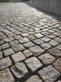 Cobblestones cinzentos Fotografia de Stock