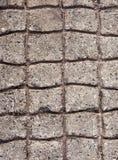 Cobblestones concretos pavimentados Imagens de Stock Royalty Free