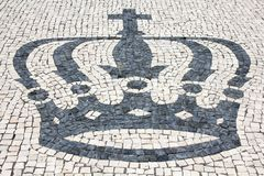 Cobblestones Crown Royalty Free Stock Photo