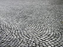 Cobblestones molhados foto de stock royalty free