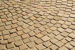 Cobblestones pavement Royalty Free Stock Images