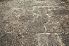 Cobblestones pavement Stock Images
