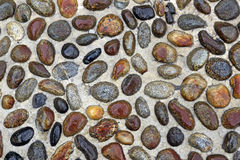 Cobblestones pavement Royalty Free Stock Photography