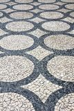 Cobblestones in Porto Royalty Free Stock Photo