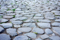 Cobblestones Road Stock Photo