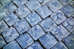 Cobblestones Road Closeup Stock Photos