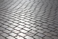 Cobblestones square Stock Image