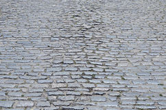 Cobblestones on street Royalty Free Stock Photo