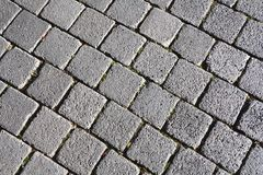 Cobblestones on a street Stock Photography