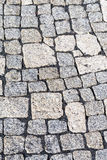 Cobblestones of a street in detail Stock Photography