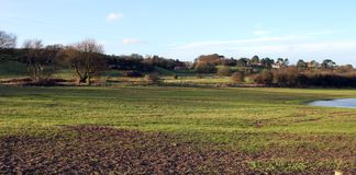 Cober Hill north of scarbourough Stock Image