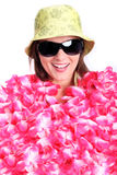 Coberto com as flores Imagem de Stock Royalty Free