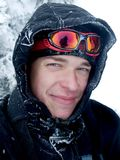 Coberto com a neve Imagem de Stock