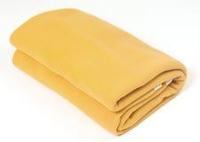 Cobertor amarelo Imagens de Stock