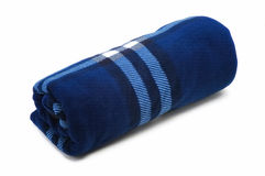 Cobertor azul fotos de stock