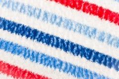 Cobertor colorido Foto de Stock