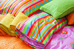 Cobertor colorido Fotos de Stock Royalty Free
