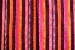 Cobertor com teste padrão amarican latin da cor foto de stock royalty free