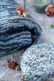 Cobertor da manta Imagens de Stock Royalty Free