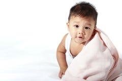 Cobertor do bebê Imagens de Stock Royalty Free