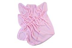 Cobertor feito malha bebê Fotos de Stock Royalty Free