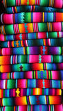 Cobertor guatemalteco Foto de Stock