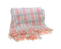 Cobertor tecido macio do bebê Imagens de Stock Royalty Free