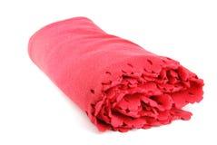 Cobertor vermelho imagens de stock