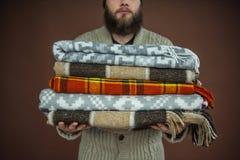 cobertores Imagens de Stock Royalty Free