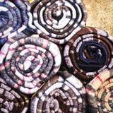 Cobertores Fotografia de Stock